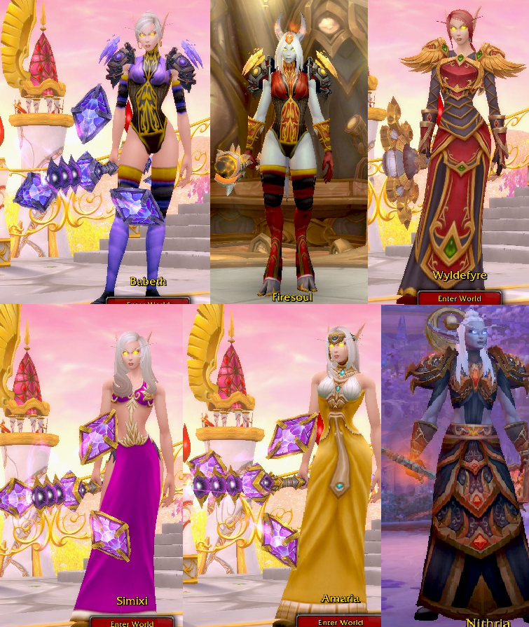 My World Of Warcraft Mage Transmogs