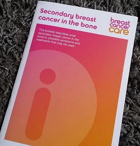 Breast Care Leaflet - Secondary Breast Cancer In The Bone